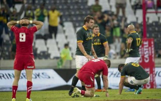 DEJA  VU: Wales v South Africa