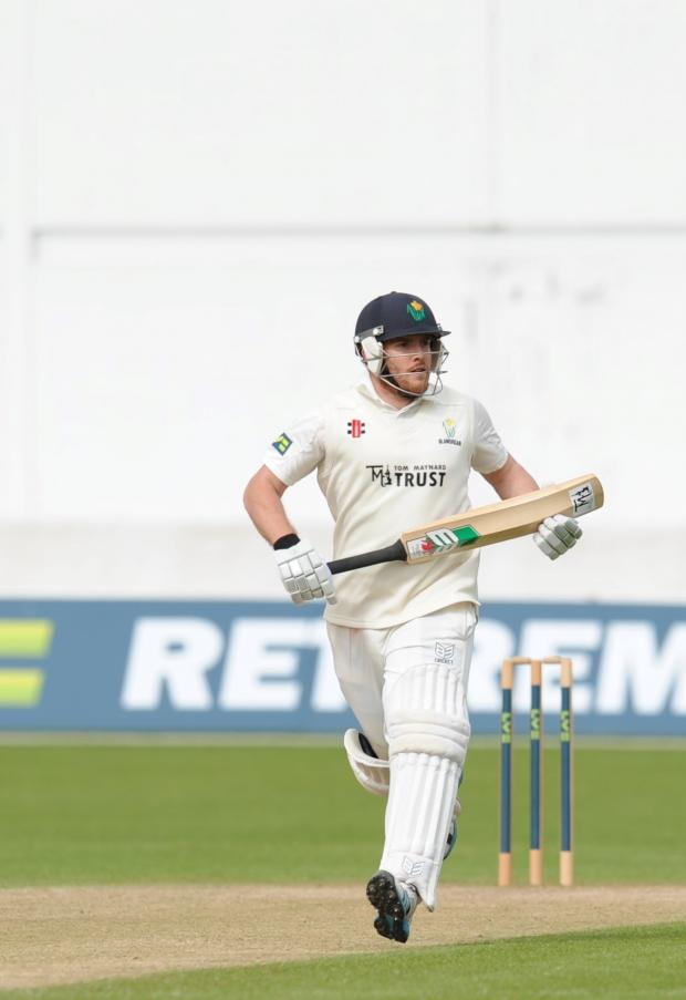South Wales Argus: Glamorgan v Worcestershire in LV= County Championship. Running is Glamorgan County player Will Bragg. (6023944)