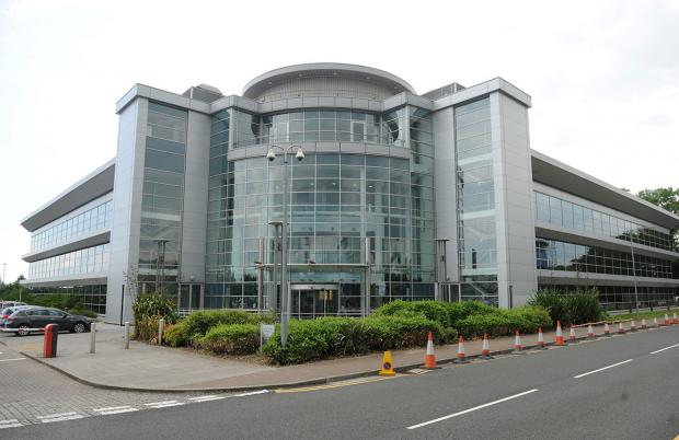 JOBS FEAR: The Ministry of Justice building at Celtic Springs Business Park in Newport