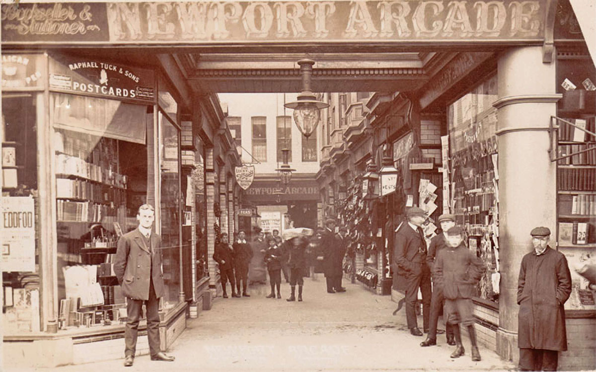 NOW AND THEN: Newport Arcade