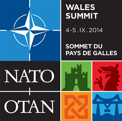 Newport Nato summit logo revealed - with the Transporter Bridge