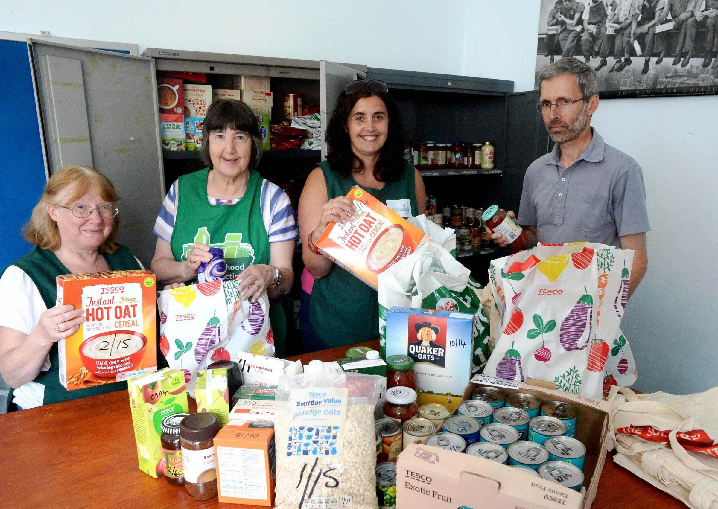 Chepstow foodbank helps feed 1,500