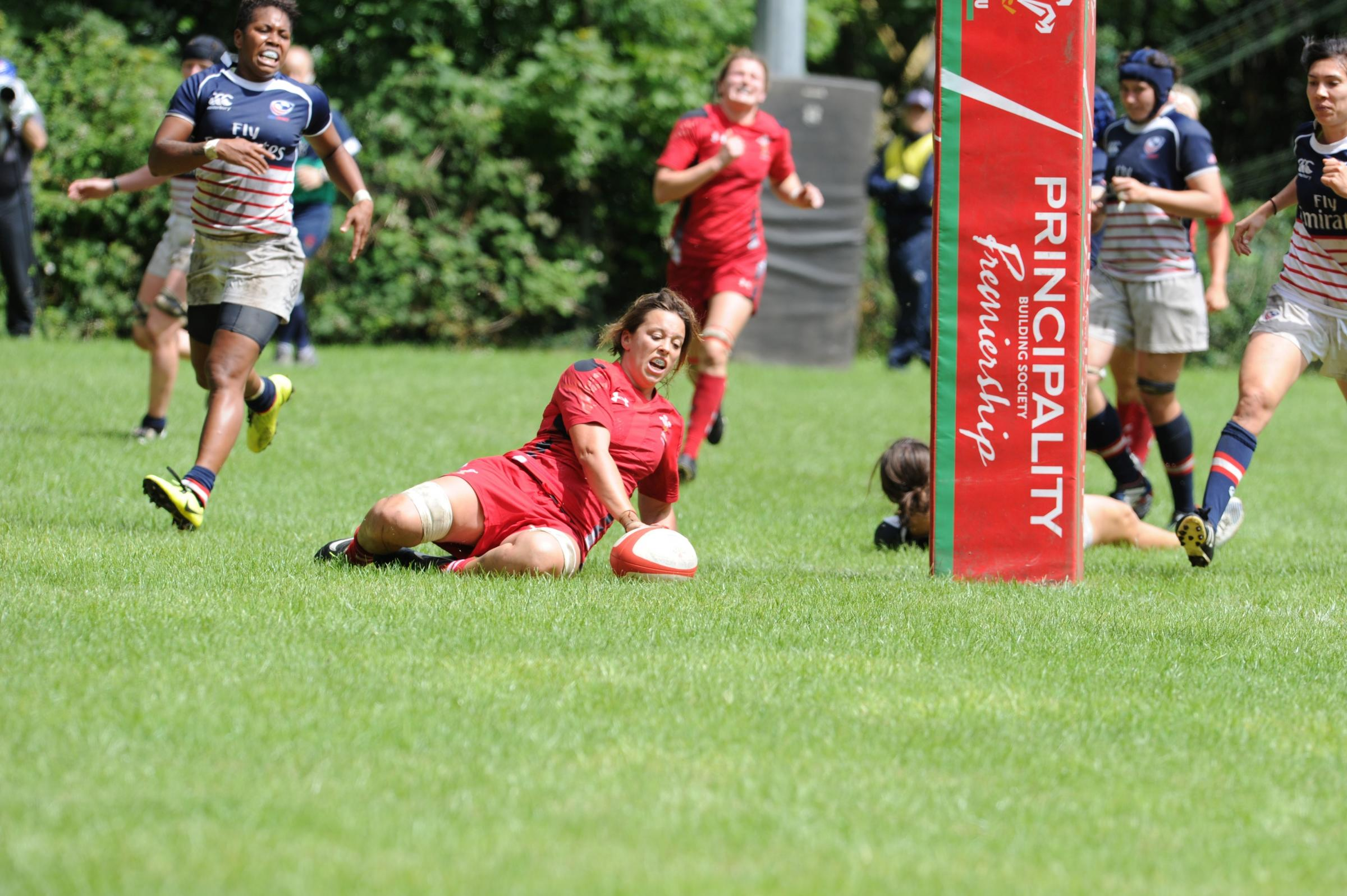 Wales Women edged out by USA