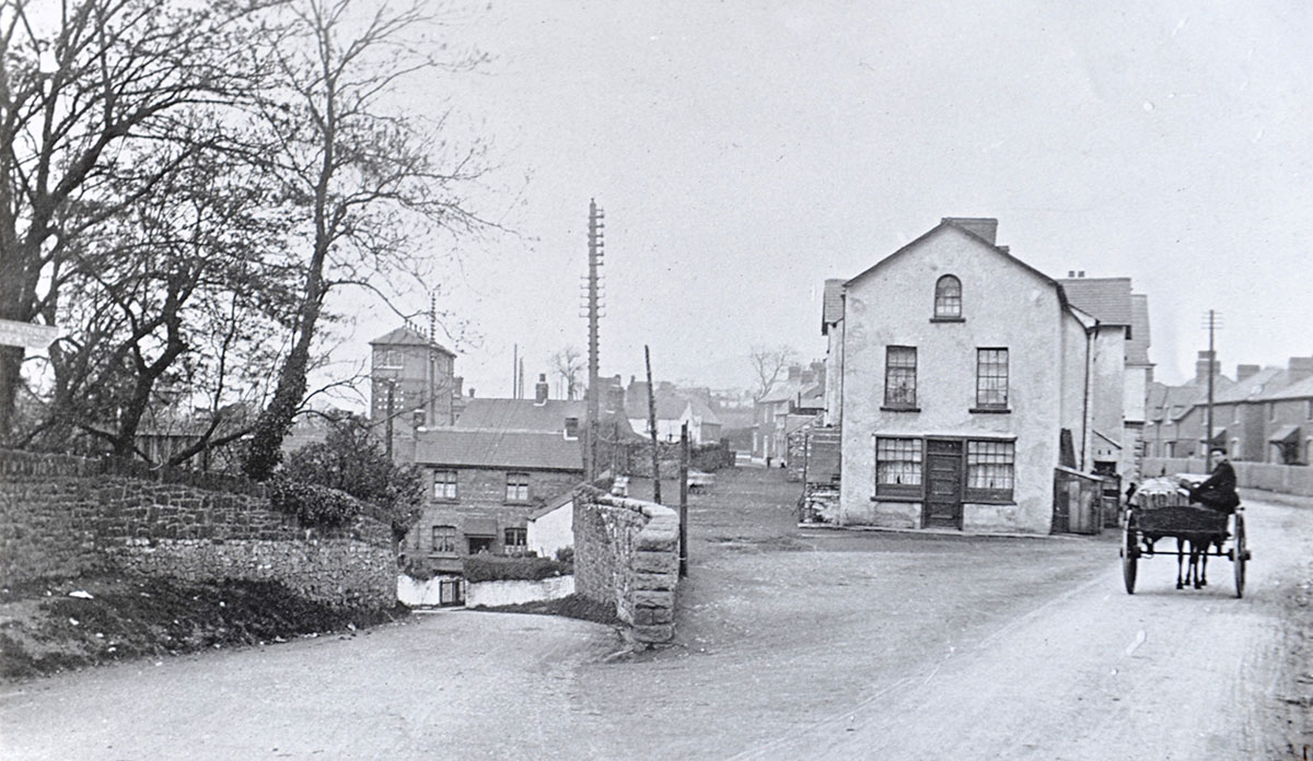 NOW AND THEN: Pye Corner, Newport