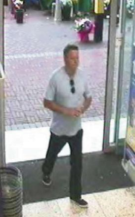 CCTV appeal after cashpoint theft