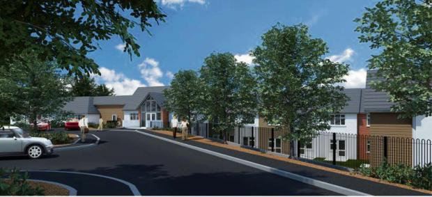 GROUNDBREAKING: A CGI of Castleton's new care home which will be built by Castleoak for the CarePlaces Fund and leased by Barchester Healthcare. (7734556)