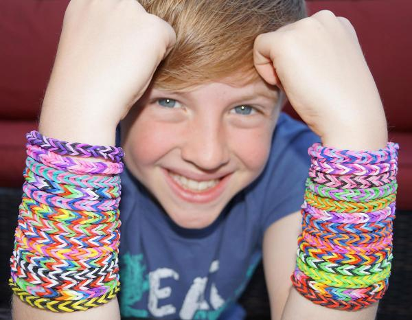 South Wales Argus: Cwmbran bids to become 'Loombran' with loom band festival