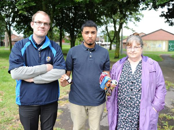 Teacher's anger at 'dangerous' Newport park