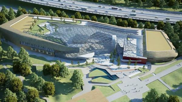 FUTURISTIC: How the Celtic Manor convention centre will look