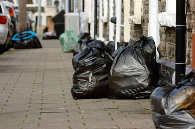 Council could cut black bag collections to once every three weeks