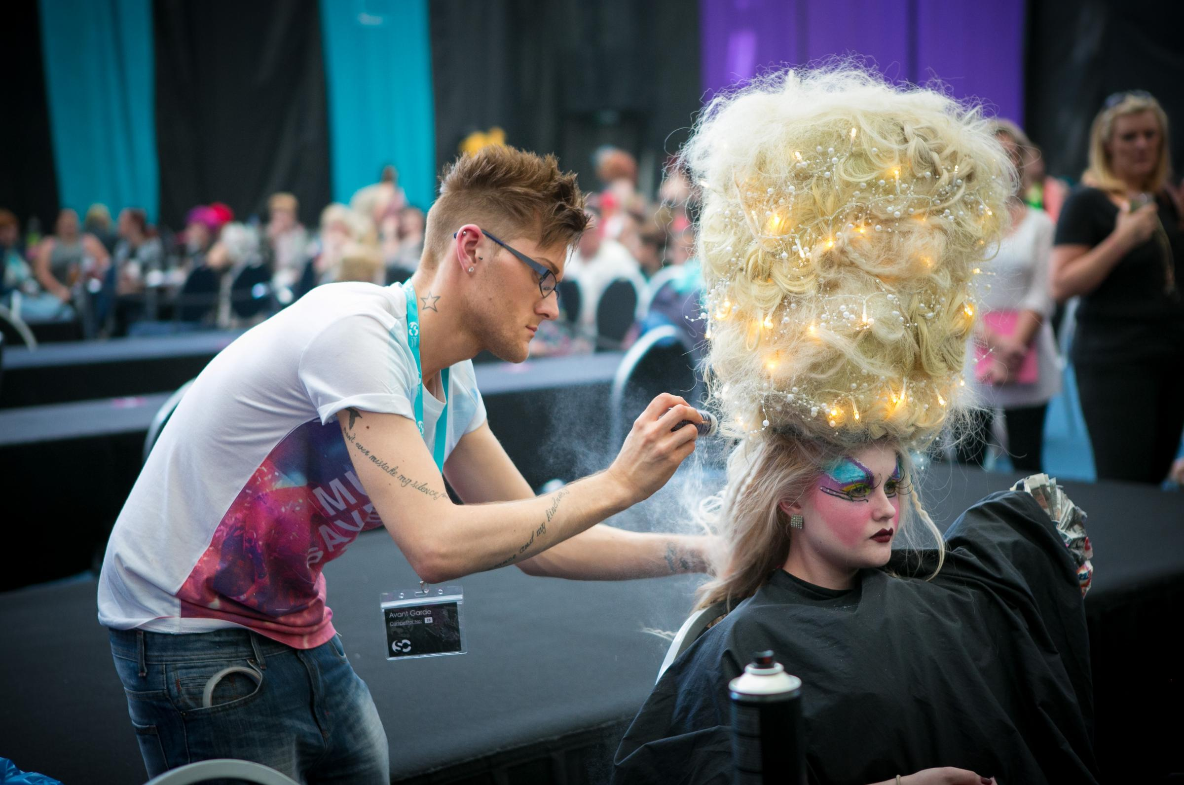 Coleg Gwent students stylists win at Wales contest