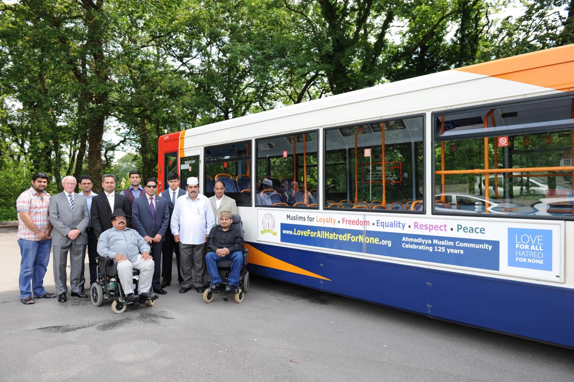 Campaign for tolerance launched on Newport buses