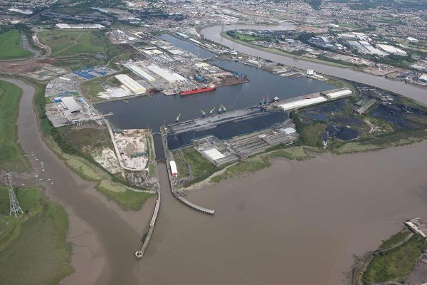 CONCERN: Newport docks' trade could be severely affected by a new £1 billion M4 relief road, says the group who run the port