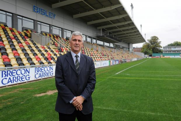 Newport Gwent Dragons Chief Executive Gareth Davies (1141818)