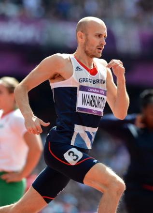 DOPING CHARGE: Gareth Warburton was the first Welsh athlete to fail a drugs test last week
