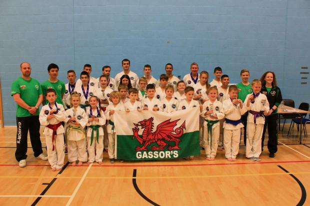 GREAT PERFORMANCES: Members of the Gassor's Tournament Team who took part in the Global Taekwon-Do International (G.T.I) National Open Championships