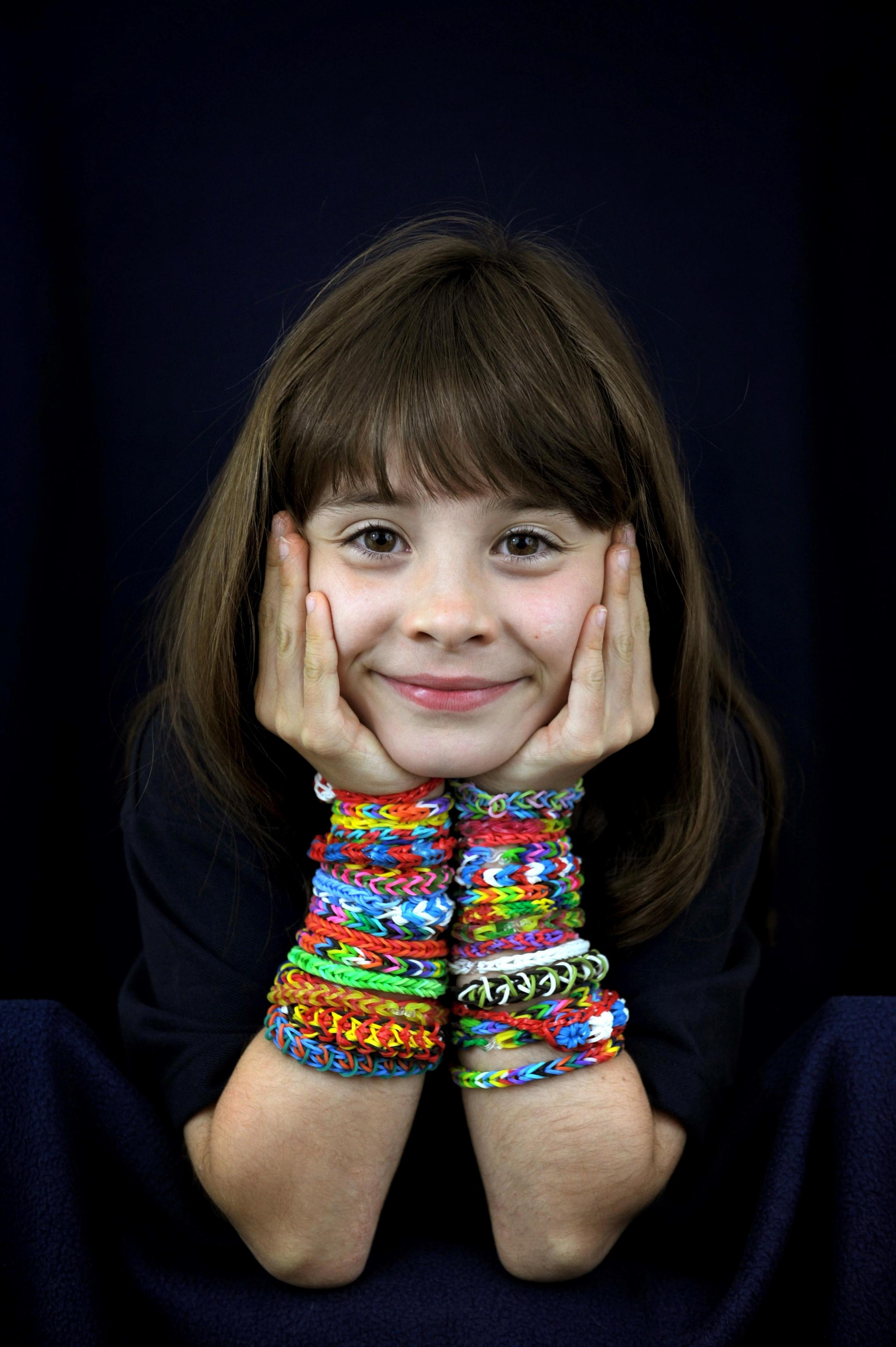 IT'S THE WEEKEND: The allure of loom bands is here to stay