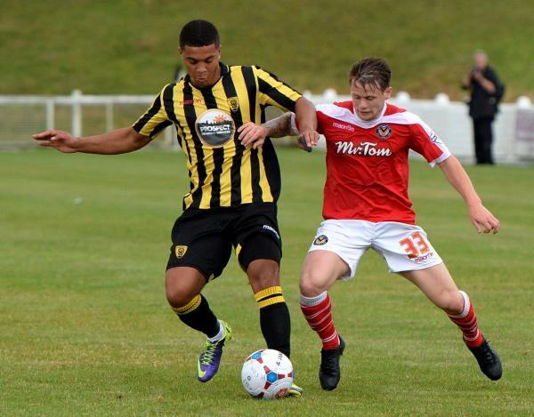 Gloucester City 0 Newport County 2
