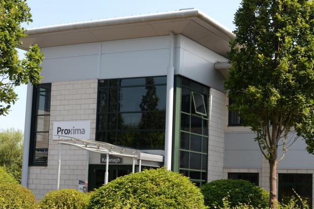 Proxima have just announced 68 new jobs, doubling their workforce. Pictured is Proxima's offices in Llantarnam Park, Cwmbran (8536088)
