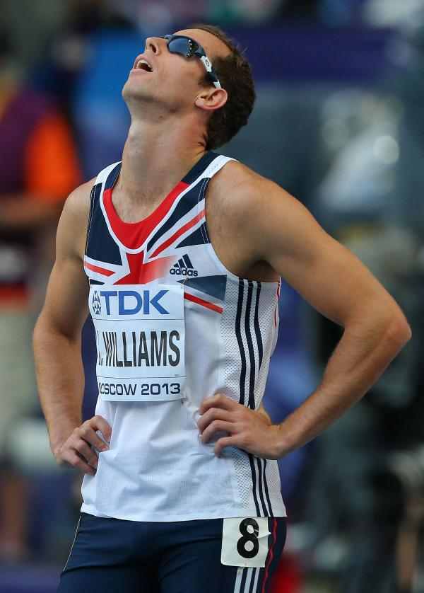 DOPING CHARGE: Rhys Williams