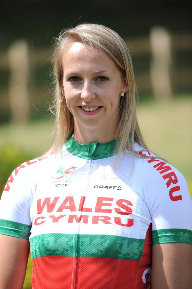 South Wales Argus: DISAPPOINTED: Rachel James, Becky's older sister, missed out on a medal in Glasgow