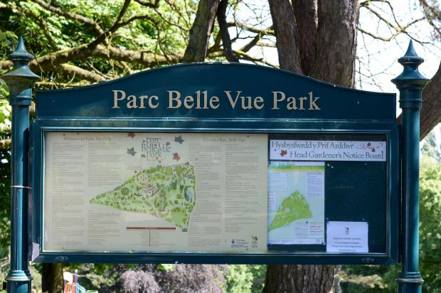 Belle Vue Park feature for Weekend A MAP  On display in the grounds (6889033)