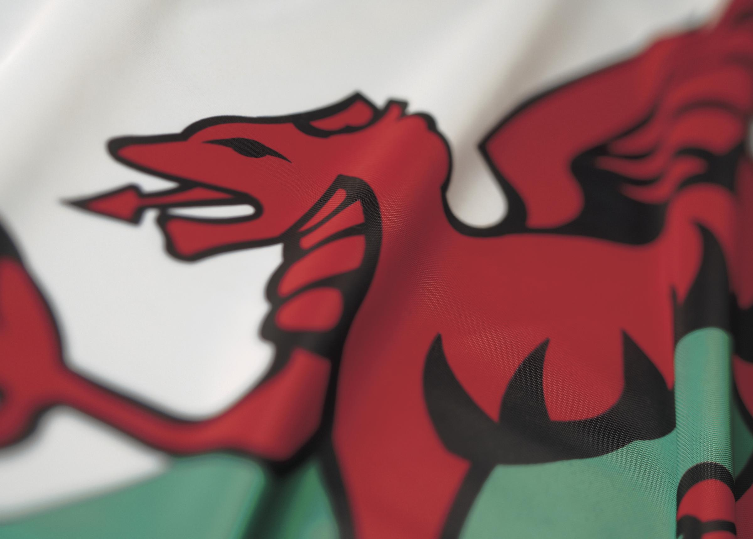 The Welsh flag. (52047781)