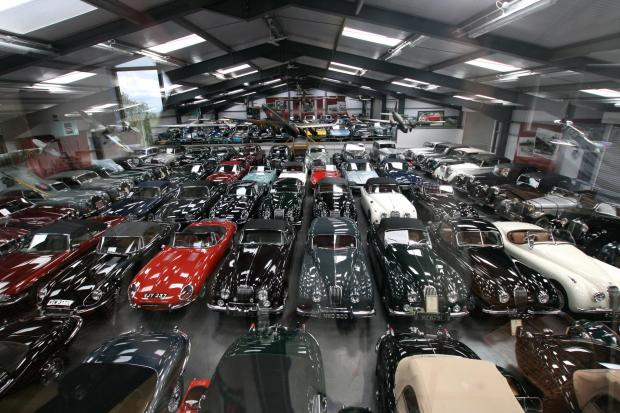 James Hull's car collection
