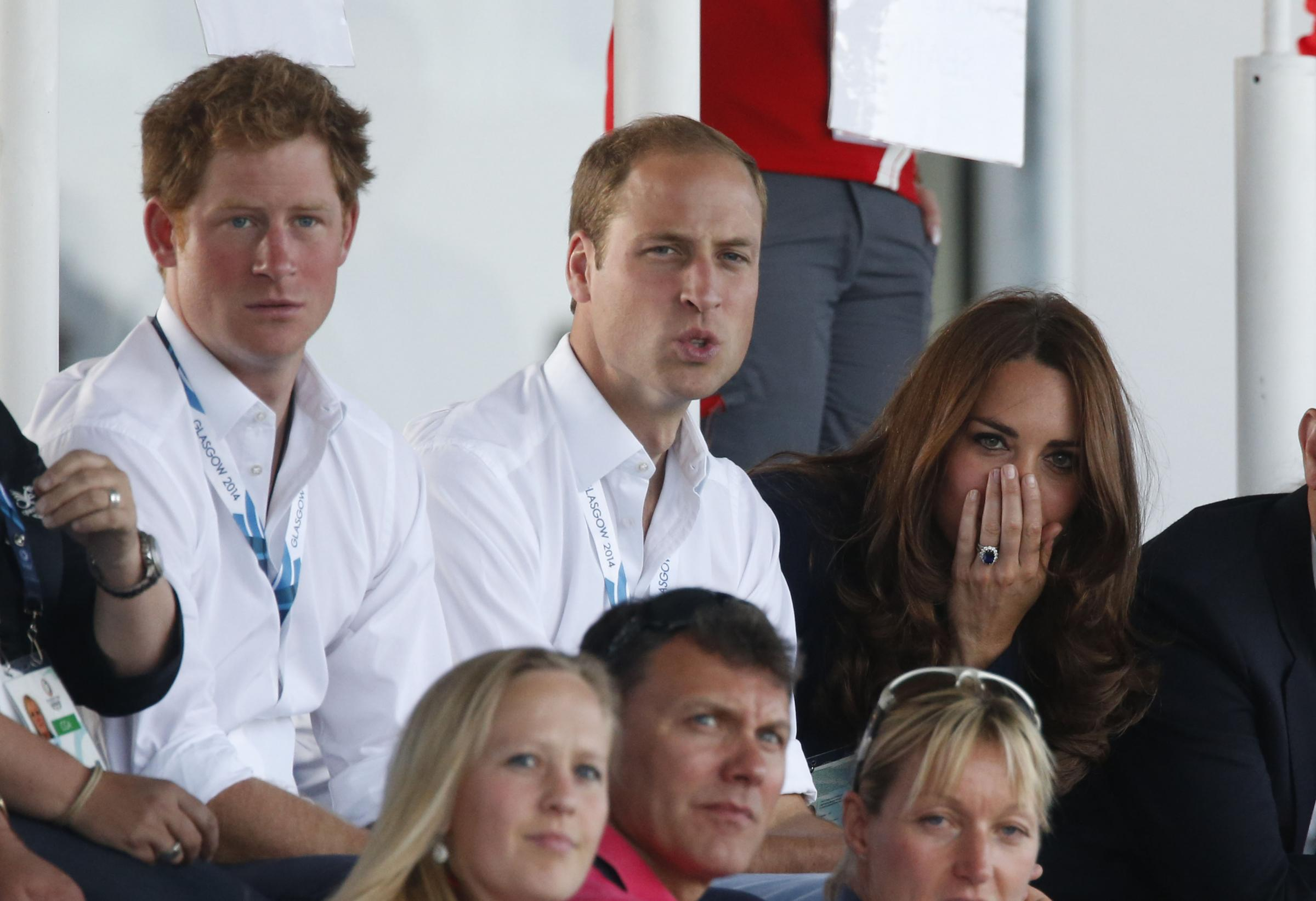 ROYALTY: Prince Harry and the Duke and Du