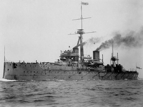 WWI ARGUS ARCHIVE: The First Fleet, including 20 Dreadnoughts was steaming in the North Sea