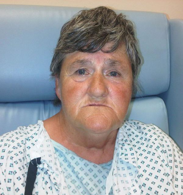 Police have identified the woman who walked into the Royal Gwent Hospital early this morning
