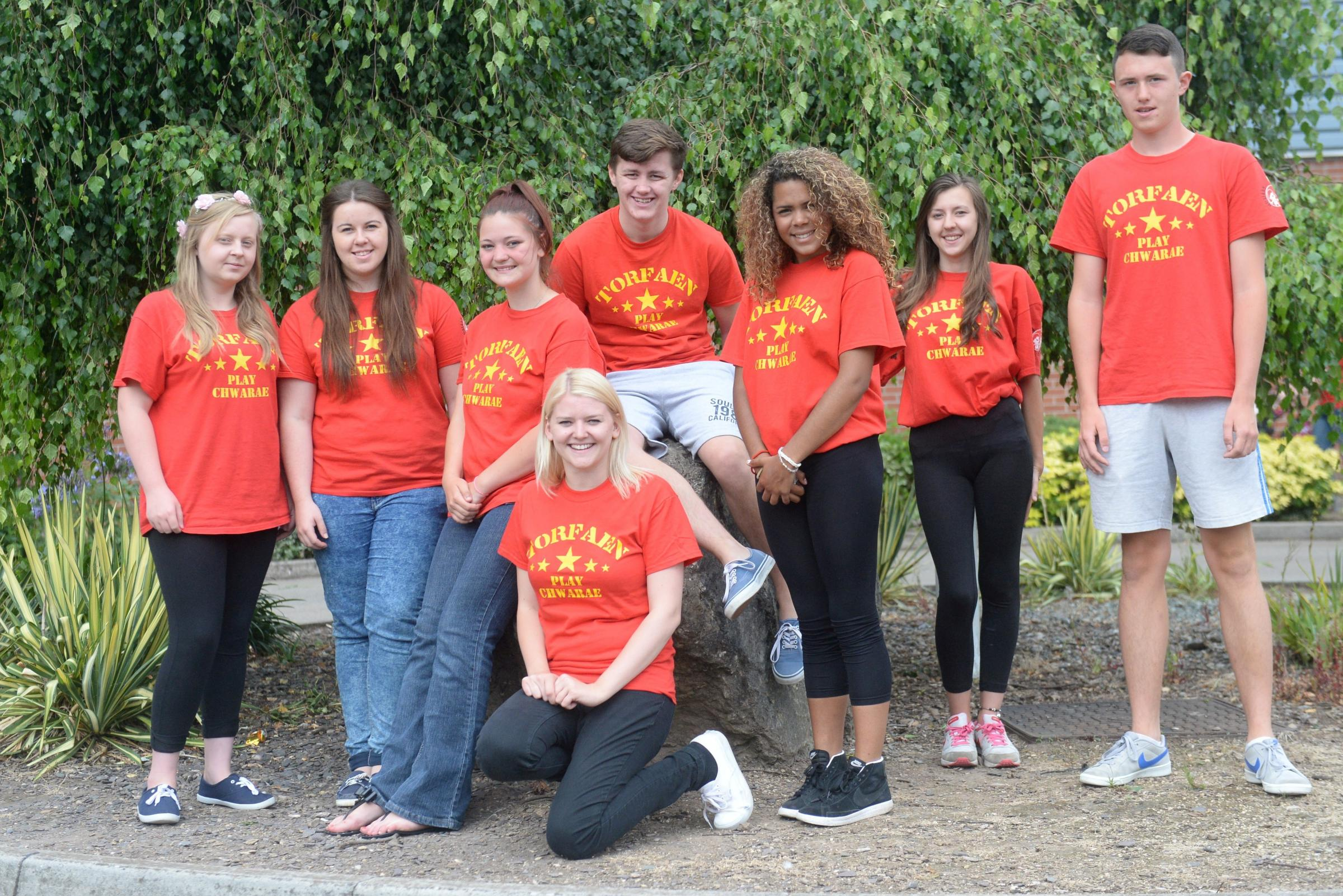 WORK EXPERIENCE: Summer playscheme volunteer