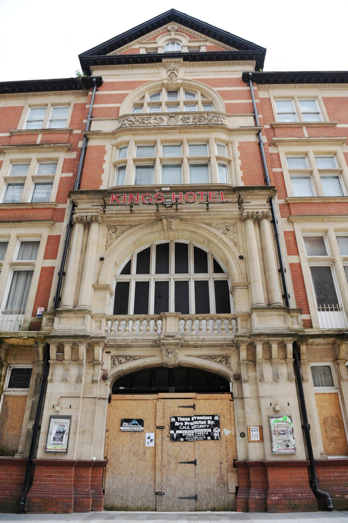 Newport s Kings Hotel to be converted into luxury apartments