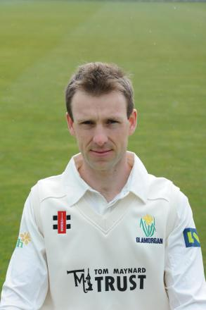 SWING KING: Glamorgan's Huw Waters has been forced to retire by injury