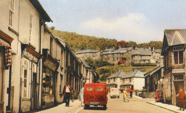 NOW & THEN: A scene from the Gwent Valleys