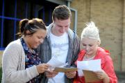NERVOUS WAIT: Students across Wales will be opening their A-level results on Thursday.