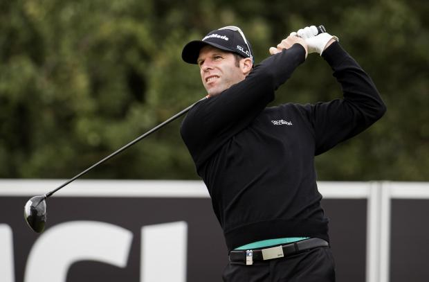 SECOND PLACE: Gwent's Bradley Dredge in the inaugural Made in Denmark European Tour event