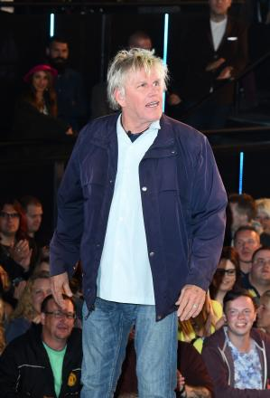 Gary Busey arriving to enter the Celebrity Big Brother house at Elstree Studios, Borehamwood, at the start of the latest series of the Channel 5 programme. PRESS ASSOCIATION Photo. Picture date: Monday August 18, 2014. See PA story SHOWBIZ Brother. Photo