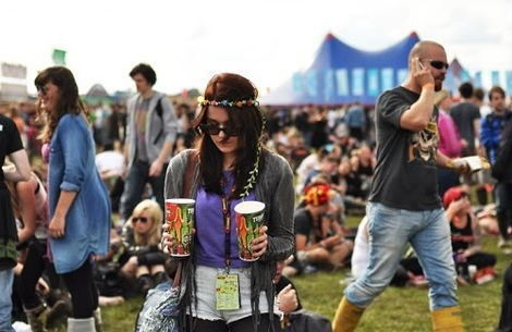 WEEKENDER: Beer, chocolate and wellies... festival fun being had by all