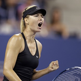 Maria Sharapova beat fellow Russian Maria Kirilenko in two sets (AP)