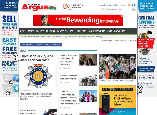 NEW LOOK: The Argus website