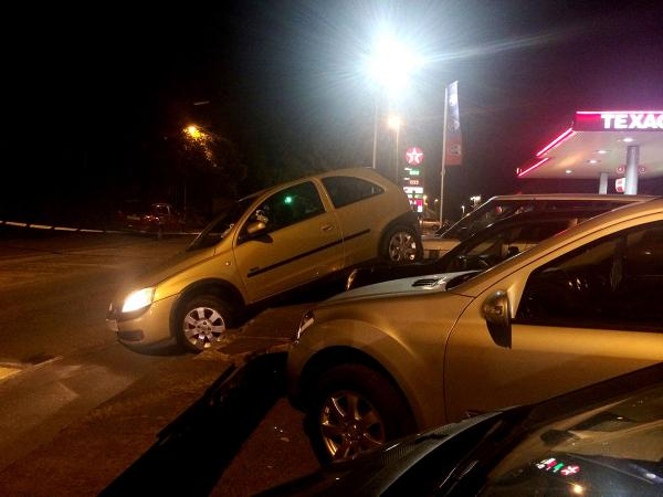 PICTURES: Three seriously injured in Caerleon hit-and-run