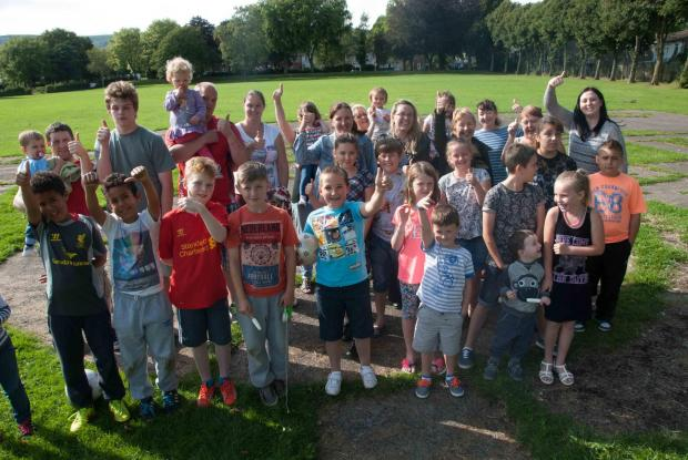 CELEBRATIONS: Cwmbran residents welcome funding for park