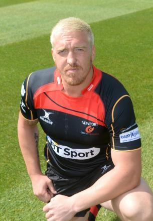 NEW BOY: Andy Powell has been backed to shine for Newport Gwent Dragons  by Scott Quinnell