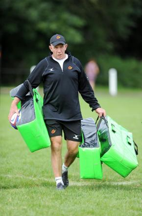 NEW CHALLENGE: Newport Gwent Dragons high performance manager Huw Bevan