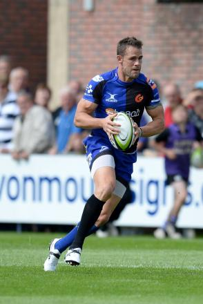 TOUGH TEST: Dragons captain Lee Byrne is ready to take on Northampton