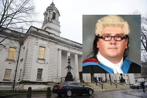 REPRIMAND: Alan Blacker appeared at Cardiff Crown Court