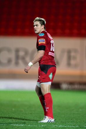 FRESH START: Gareth Maule has left the Scarlets for Bristol
