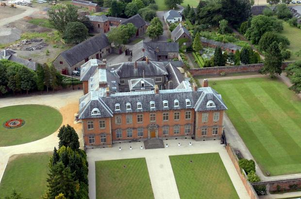 South Wales Argus: SWA NICK MORRISH 24-06-06 AERIAL PHOTO OF TREDEGAR HOUSE NEWPORT (9091845)