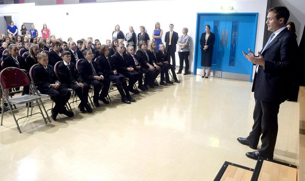 Llanwern pupils learn about Nato's role